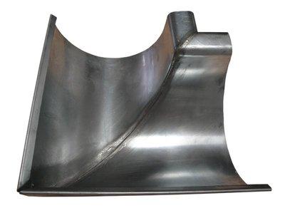 Zinken Dakgoot - Binnenhoek M30