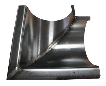 Zinken Dakgoot - Buitenhoek M37