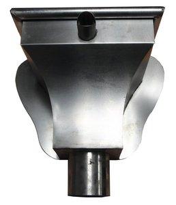 Zinken Regenpijp - Vergaarbak AGS - Rond 100 mm