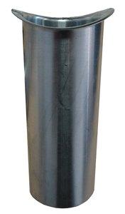 Zinken Dakgoot - Tapeind Mastgoot M37 / M44 - Rond 80 mm - Lang 9 cm