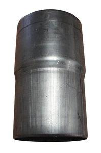 Zinken Regenpijp - Verbindings Mof Rond 80 mm